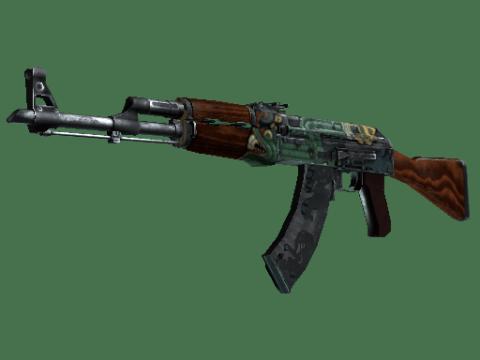 AK-47 | 火蛇 (战痕累累)