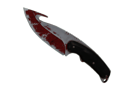 ★ Gut Knife | Crimson Web (Battle-Scarred)