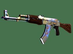 AK-47 | 表面淬火 (略有磨损)