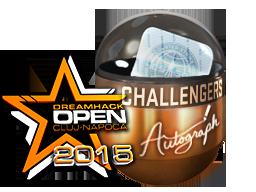 亲笔签名胶囊 | 挑战者(闪亮)| 2015年克卢日-纳波卡锦标赛