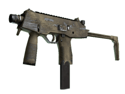 MP9 | Sand Dashed (Well-Worn)