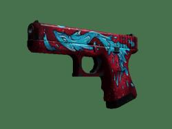 StatTrak™ Glock-18 | Water Elemental (Well-Worn)