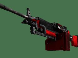 StatTrak™ M249 | System Lock (Minimal Wear)