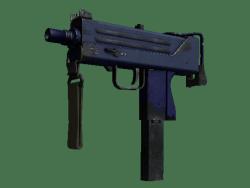 Souvenir MAC-10 | Indigo (Well-Worn)