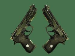 StatTrak™ Dual Berettas | Retribution (Factory New)