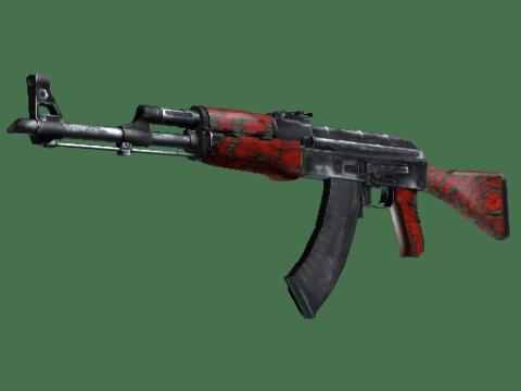AK-47 | 红色层压板 (破损不堪)