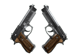 Dual Berettas   Black Limba (Field-Tested)