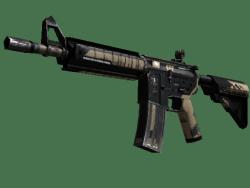 StatTrak™ M4A4 | Desert-Strike (Well-Worn)