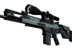 SCAR-20 | Storm (Well-Worn)