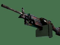 StatTrak™ M249 | Magma (Factory New)