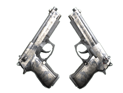 Dual Berettas   Stained (Battle-Scarred)