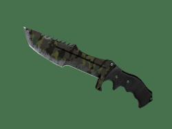 ★ Huntsman Knife | Boreal Forest (Battle-Scarred)