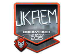 Sticker   jkaem (Foil)   Cluj-Napoca 2015
