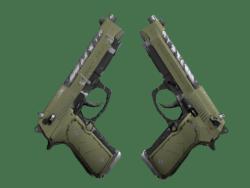 Dual Berettas | Colony (Well-Worn)