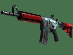 M4A4 | Bullet Rain (Field-Tested)