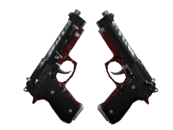 Dual Berettas   Panther (Field-Tested)