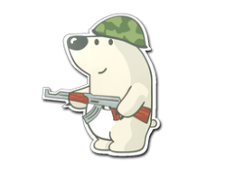 Sticker | Nelu the Bear