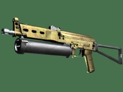PP-Bizon   Brass (Well-Worn)