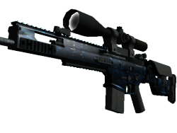 StatTrak™ SCAR-20 | Grotto (Minimal Wear)