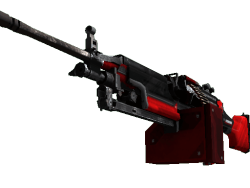 StatTrak™ M249 | System Lock (Field-Tested)