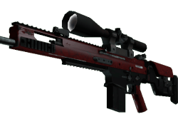SCAR-20 | Crimson Web (Minimal Wear)