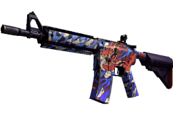 StatTrak™ M4A4 | 龍王 (Dragon King) (Factory New)