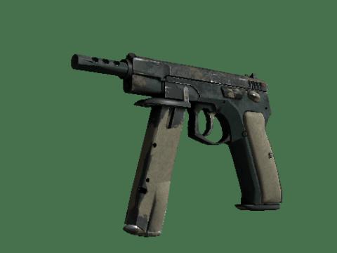 CZ75   绿色格纹 (战痕累累)