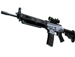 SG 553 | Damascus Steel (Factory New)