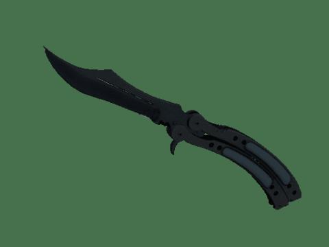 蝴蝶刀(★ StatTrak™) | 噩梦之夜 (略有磨损)