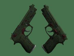 Souvenir Dual Berettas   Briar (Factory New)
