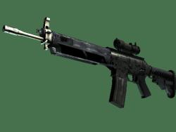 SG 553 | Army Sheen (Minimal Wear)
