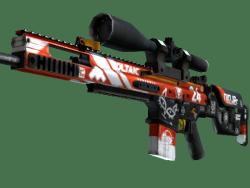 StatTrak™ SCAR-20   Bloodsport (Factory New)