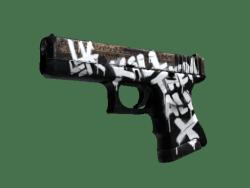 StatTrak™ Glock-18   Wasteland Rebel (Factory New)