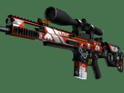 StatTrak™ SCAR-20 | Bloodsport (Field-Tested)