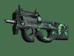 StatTrak™ P90 | Grim (Minimal Wear)
