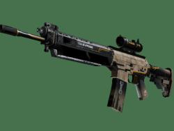 SG 553 | Triarch (Well-Worn)