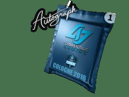 亲笔签名胶囊   Counter Logic Gaming   2016年科隆锦标赛