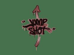 Sealed Graffiti   Jump Shot (Brick Red)