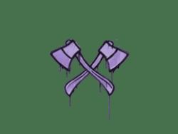 Sealed Graffiti | X-Axes (Violent Violet)