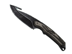 ★ StatTrak™ Gut Knife | Black Laminate (Minimal Wear)