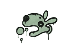 Sealed Graffiti | Popdog (Cash Green)