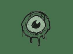Sealed Graffiti   Eye Spy (Cash Green)