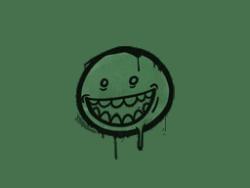Sealed Graffiti   Mr. Teeth (Jungle Green)