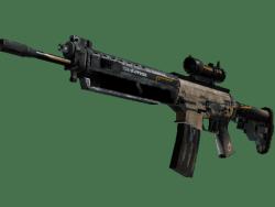 StatTrak™ SG 553 | Triarch (Battle-Scarred)