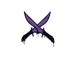 Sealed Graffiti | X-Knives (Monster Purple)