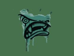 Sealed Graffiti   Rage Mode (Frog Green)