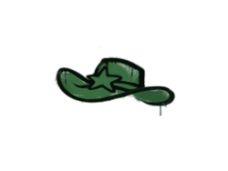 Sealed Graffiti | Sheriff (Jungle Green)