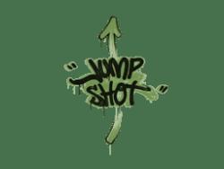 Sealed Graffiti   Jump Shot (Battle Green)