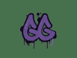 Sealed Graffiti   GGEZ (Monster Purple)