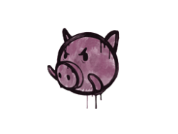 Sealed Graffiti | Piggles (Princess Pink)